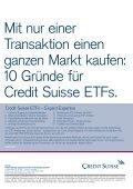 Differenziert investieren mit Branchen-ETfs! - EXtra-Magazin - Page 2