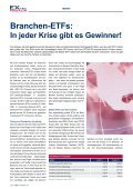 Differenziert investieren mit Branchen-ETfs! - EXtra-Magazin - Page 6
