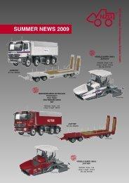 Summer Neuheiten 2009.indd - NZG-Modelle GmbH