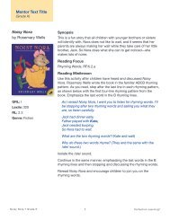 Mentor Text Title Noisy Nora by Rosemary Wells - Perfection Learning