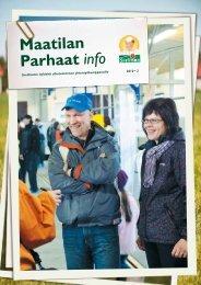 Maatilan Parhaat info 2 / 2010 - Snellman