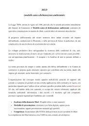 modello unico dichiarazione ambientale - Camera di Commercio