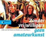 Vrijwilligersgids voor amateurkunsten - Online Vrijwilligerswerk