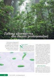 Zielona alternatywa dla chemii profesjonalnej