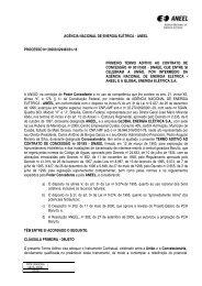 1º Termo Aditivo Contrato 01/1993 - Aneel