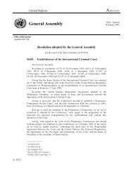 General Assembly - Coalition for the International Criminal Court