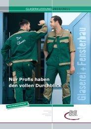 Nur Profis haben den vollen Durchblick - RG Arbeitsschutz
