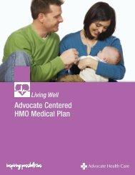 HMO Plan Summary - Advocate Benefits - Advocate Health Care