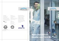 Mehr Durchblick: Fenster von TROCAL. - EIBA-Fenstertechnik ...