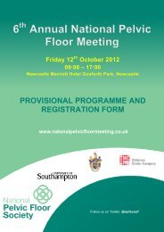 Course programme and booking form - The Association of ...