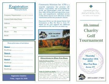 Download the sponsor and registration brochure - Community ...