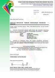 kelab sukan dan kebajikan perancang bandar malaysia ... - JPBD