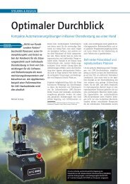 Optimaler Durchblick - Panasonic Electric Works Austria GmbH