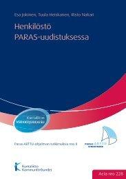 Henkilöstö PARAS-uudistuksessa - Kunnat.net