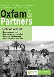 Recht op voedsel - Oxfam-Solidariteit