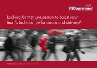 permanent brochure - 9-20 Recruitment
