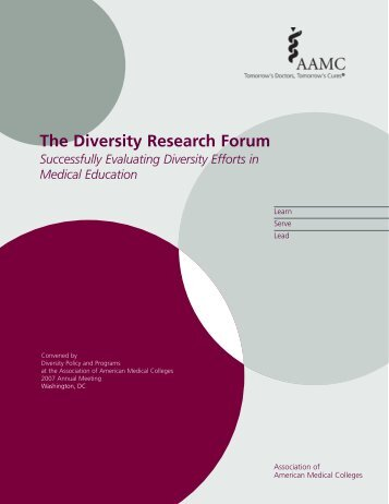 Diversity Research Forum: Successfully Evaluating - Member Profile ...