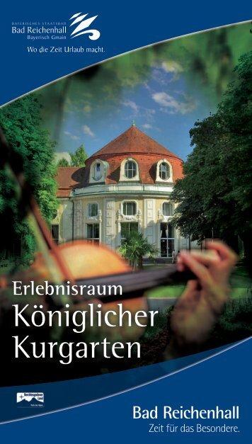 Königlicher Kurgarten - Bad Reichenhall
