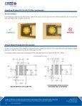Cree® XLamp® LED Soldering & Handling XLamp XP-E & XP-C LEDs - Page 2