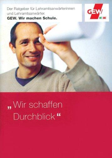Durchblick 2012 - GEW