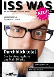 Durchblick total - Studentenwerk Frankfurt am Main