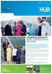 The Hub Issue 59 - Canberra Airport