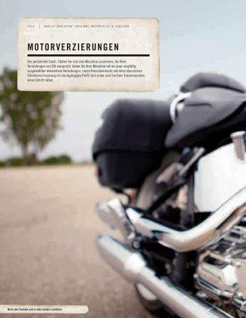 Motorverzierungen - Harley Heaven