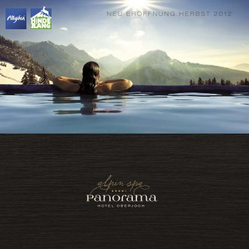 kostenlos herunterladen - Panoramahotel Oberjoch