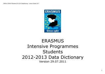 Students Data Dictionary - EURIreland.ie