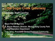 Little Sugar Creek Greenway