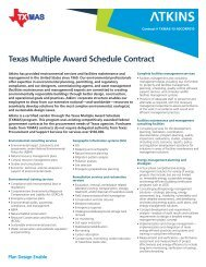 Texas Multiple Award Schedule Contract (TXMAS)