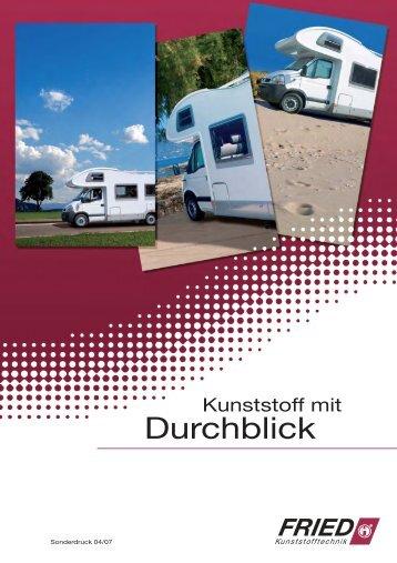 Durchblick - Fried Kunststofftechnik GmbH