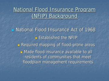 Floodplain Management in Rhode Island - Rhode Island Land and ...