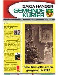 Gemeindekurier 06/2006 - St. Johann am Walde