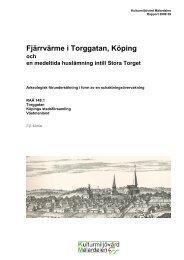 Fjärrvärme i Torggatan, Köping - KMMD
