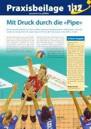 Swiss Volley Magazine, Praxisbeilage 2012-1