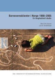 Barnevernsklienter i Norge 1990–2005 - Nova