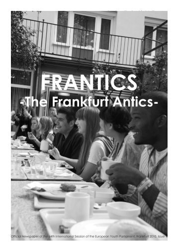 Issue 1 - Frankfurt 2010