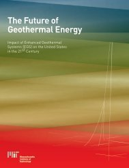 The Future of Geothermal Energy - Colorado Geological Survey