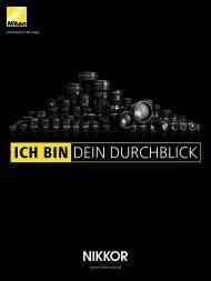 ICH BIN DEIN DURCHBLICK - Nikon