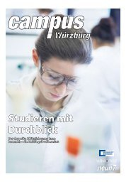 Studieren mit Durchblick - Universität Würzburg