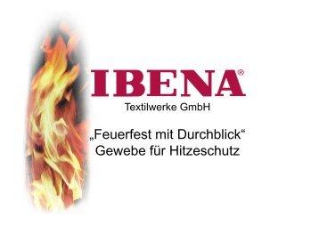 """""""Feuerfest mit Durchblick"""" Gewebe für Hitzeschutz - ZiTex"""
