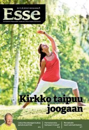 Esse 31/2013 (pdf) - Espoon seurakuntasanomat