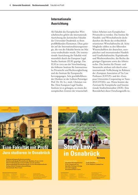 Das Juristische Repetitorium der Universität Osnabrück