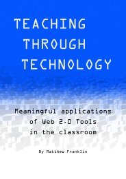 Teaching Through Technology - Web 2.0 handbook - RMIT University