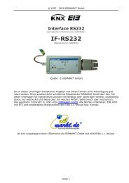 EIB/KNX Interface - IF-RS232 Universal - Eibmarkt.com