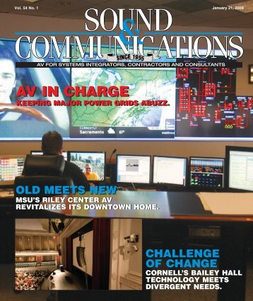 Sound and Communications - January 2008 Issue