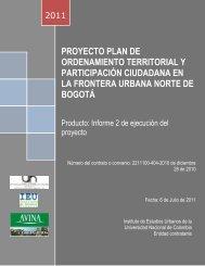 proyecto plan de ordenamiento territorial y participación ciudadana ...