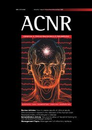 Review Articles: How to assess reports of clinical results ... - ACNR