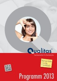 Mit uns haben Sie den Durchblick ! - Qualitas - Seminarinstitut für ...